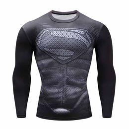 $enCountryForm.capitalKeyWord Australia - T-shirt Crossfit Superhero Tops Tees Fitness Quick-dry Gym Running Tshirt For Men Shirts Basketball Shirt Work Out 2019