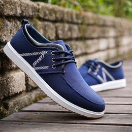 $enCountryForm.capitalKeyWord Australia - The manufacturer directly sells the autumn 2018 canvas shoes, men's shoes, Korean version of men's classic casual shoes, sports fashion shoe