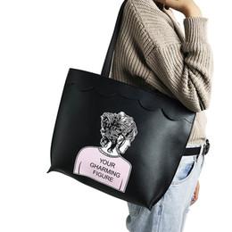 $enCountryForm.capitalKeyWord NZ - Fashion Korean Autumn Winter Women Shoulder Bag Pu Leather Girl Figure Printing Big Capacity Bags Ladies Casual Handbag Fa1