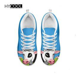 Lamb shoes woman online shopping - HYCOOL Women Run Sneaker Femme Summer Lofters Athletic Jogging Sport Shoes for Women s Light Cow Lamb Pattern Flat Walking Shoe