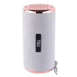 $enCountryForm.capitalKeyWord UK - TG153 Luxury Bluetooth Stereo Speaker Super Bass Column Hifi Soundbox with Landyard Outdoor Loudspeaker for Phone FM Radio TF USB