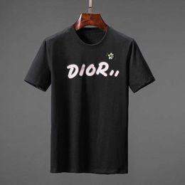 Wholesale collar t shirts design online – design Design Paris fans T Shirts Mens Clothing Women Summer Casual T Shirts Cotton letter fashion Short Sleeve D reflection Medusa T Shirts