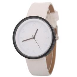 $enCountryForm.capitalKeyWord Australia - Solid Color Scrub Watch for Women Men Students Waterprof Professionals Watch Leather Strap Band Quartz Wrist