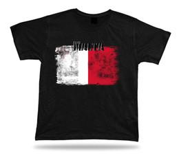 $enCountryForm.capitalKeyWord Australia - Malta flag Tshirt T-shirt Tee top city map stunning original tricot holy gift 2018 New Brand Mens T Shirt Cotton Short Sleeve print