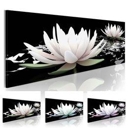 $enCountryForm.capitalKeyWord NZ - Lotus Flower Abstract Oil Painting on Canvas Home Decor Wall Art Canvas Print Art Decor Watercolor Landscape Multicolor