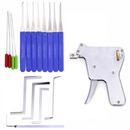 locksmith broken key extractor Australia - Locksmith Tool Broken Key Extractor Tool Pick Set with Lock Gun Practice Set Tension Wrench Kit for Locksmith Training