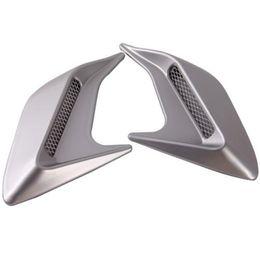 $enCountryForm.capitalKeyWord Australia - One Pair For DIY Car Auto Decorative Side Vent Air Flow Fender Intake Stickers