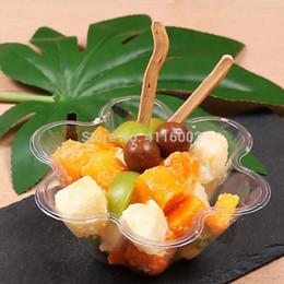 1200pcs monouso gelato di plastica ciotola piatti a forma di insalata di frutta buffet parfait cup evento festa di nozze