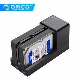 $enCountryForm.capitalKeyWord Australia - HDD Enclosure ORICO 2.5 3.5 Inch SATA Hard Drive Enclosure With Clone Function Support 20TB Max Clone Docking Station With 12V Power Adapter