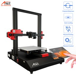 Aluminium beds online shopping - 2019 New Arrival Anet ET4 D Printer Kit Automatic Heating Bed Leveling High Precision D Printer DIY Kit Aluminium Alloy