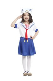 $enCountryForm.capitalKeyWord Australia - Shanghai Story Kids Child Sailor Girl Costumes Classic Halloween Costume Carnival Mardi Gras Party Dress