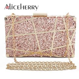 $enCountryForm.capitalKeyWord Australia - New 2019 Luxury Handbags Women Bags Designer Metal Hollow Out Hard Case Box Evening Clutch Party Bags