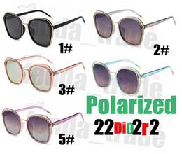 black square eyeglasses 2019 - 5PCS Retro Brand Designer Square Sunglasses Women 5 Colors clear frame Polaried Sun glasses Mirror Eyeglasses Lentes de