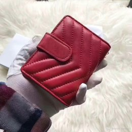 $enCountryForm.capitalKeyWord Australia - Genuine Leather Card Holder Women Mini Card Wallets 2019 Designer Designer Bag ID Credit Card Case Small Coin Purse for Ladies