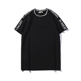 T Shirts S Print Letters Australia - 2019 New Brand Women Summer T Shirts Womens Designer Short Sleeve Fashion Letter Printed Crew Neck Tops Tees Wholesale with S-2XL Availiable