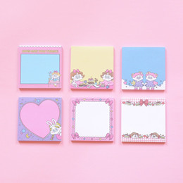Cute korean bookmarks online shopping - 50 sheets Cute Girl Korean Sticky Notes Memo Pad Kawaii Stationery Planner Notepad Paper Bookmarks School Office Supply
