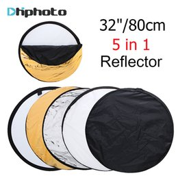 "photography reflector stand 2019 - photo Ulanzi 32"" 80cm 5 in 1 Collapsible Multi-Disc Light with Cariing Bag,Round Photography Photo Reflector for S"