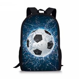 $enCountryForm.capitalKeyWord Canada - Advocator 3 Pcs set Children School Bags 3D Ice Soccerly Foot Ball Pattern School Backpack for Teen Boys Girls Kids Book Bags