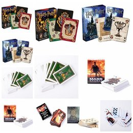 $enCountryForm.capitalKeyWord NZ - 6styles Harry Potter Game Playing Cards Hogwarts House Game of Thrones Mass Effect Poker Waterproof Game Cards Party Favor