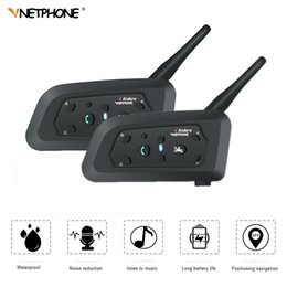 $enCountryForm.capitalKeyWord NZ - VNETPHONE 2Set V6 1200m Bluetooth Intercom Motorcycle Helmet 6 Speaker Interphone Moto Accessories Headset Remote Wireless Bt-s2