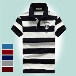 $enCountryForm.capitalKeyWord Australia - 2019 summer new Brand clothing Men Polo Shirt Men Business Casual male polo shirt Short Sleeve High quality Pure Cotton stripe tops tee