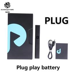 Play battery online shopping - Plug Play Pod Kit mah Battery Cartridge ml Ceramic DNA Exotic Vape pen Battery Kit Newest Free DHL