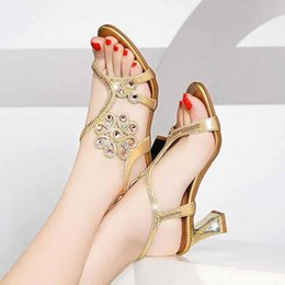 $enCountryForm.capitalKeyWord UK - Summer water drill sandals women 2019 new bold and fashion fairy style word for word Roman crystal sandals Korean version