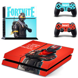 PS4 game console color paste can be pasted repeatedly Game Accessories Console Decorations game machine sticker For PS4 on Sale