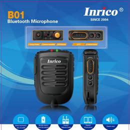 Ham radio mic online shopping - Bluetooth Ham Radio PTT Speaker Mic for Android Walkie Talkie for ZELLO T298S T320 tm PLUS walkie talkie transceiver