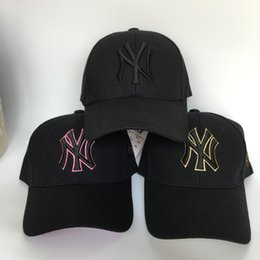 967c1ad8765 Good quality New 2019 HOT NY Fitted Hats sports hats baseball hats for men  and women High quality
