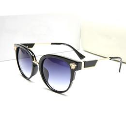 a3b0b439f1 Nuevo Ojo de gato Gafas de sol de mujer Tintado Lente de color Hombres Lujo  al aire libre Vintage Gafas de sol Gafas femeninas Gafas de sol azules  Diseñador ...