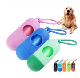 $enCountryForm.capitalKeyWord NZ - Pet Dog Poop Bags Pooper Bag Carrier Outdoor Dog Accessories Portable Poop Garbage Bags For Dogs Cat Pet Supplies Pooper Scooper