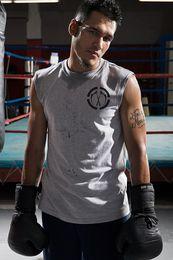 $enCountryForm.capitalKeyWord Australia - Dark tide brand male 2018 summer new small double knife vest shoulder fitness sleeveless T-shirt