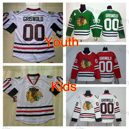 2019 Youth Vintage 00 Clark Griswold Jersey Kids Chicago Blackhawks Hockey  Jersey Boys White CCM Moive National Lampoon s Christmas Vacation acabb93ae