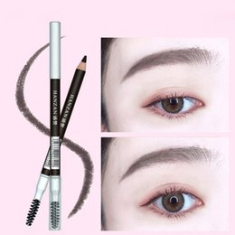 $enCountryForm.capitalKeyWord Australia - Double-ended Eyebrow Pencil 5 colors mixed color with Brow Comb Waterproof Anti-sweat Long-lasting Beauty Eyes Makeup free shipping