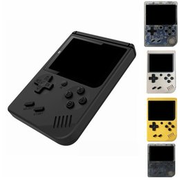 Md Portable Game Australia - 168 Games Retro Portable Mini Handheld Game Console 8-Bit 3.0 Inch Color LCD Game Player For FC PXP3 Game Player