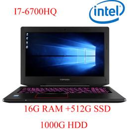 """$enCountryForm.capitalKeyWord Australia - P6-10 16G DDR4 RAM 512G SSD 1000G HDD i7 6700HQ AMD Radeon RX560 NVIDIA GeForce GTX 1060 4GB 15.6"""" gaming laptop"""