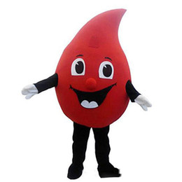 $enCountryForm.capitalKeyWord UK - Halloween Red Drop of blood Mascot Costume Top Quality Cartoon Anime theme character Christmas Carnival Party Fancy Costumes