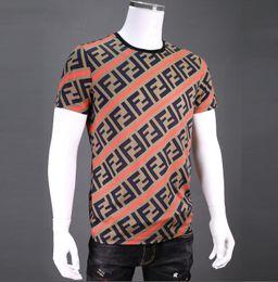 Vente en gros Mode été nouveau classique imprimé Rose mens mens t shirt en coton t-shirts de base d'été