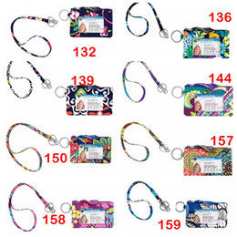 Kids case holder online shopping - VB Breakaway Lanyard with Zip ID case Sold in Set Retired Pattern VB Lanyard set Zip ID Case Multifunctional Card Holders for School Kids