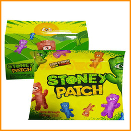 Опт Сумка Stoney Patch Молния Против запаха мешки против печенья в джунглях Гарнизон Лейн Пакет Рунца Упаковка Ziplock Proof Bag