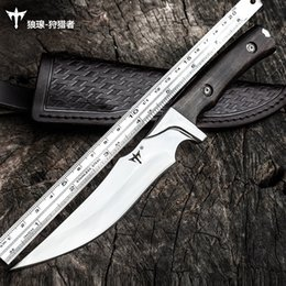 $enCountryForm.capitalKeyWord Australia - Voltron D2 steel high hardness straight knife, self-defense army knife with outdoor knife