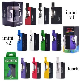 $enCountryForm.capitalKeyWord Australia - 100% Original Imini Mod icarts Kit E Cigarette Vaporizer 500mAh Power 15W Imini vape box Thick Oil Cartridges imini Vaporizer Kit