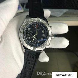 $enCountryForm.capitalKeyWord Australia - New hot sale Sapphire Mens Watch Stainless steel Men's Wrist Watches Quartz Six Needle Super Avenger II Male Rubber Watch free shipping