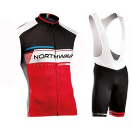 $enCountryForm.capitalKeyWord Canada - NW team Cycling Sleeveless jersey Vest (bib)shorts sets 9D Gel Pad Hot sale style 2019 Men summer Breathable Cycling Clothing Racing Sport