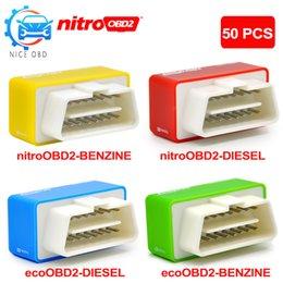 $enCountryForm.capitalKeyWord NZ - 50pcs EcoOBD2 Nitroobd2 Diesel Car Chip OBDII OBD2 Tuning Box Plug & Drive OBD 2 Lower Fuel and Emission