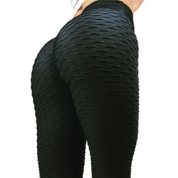 $enCountryForm.capitalKeyWord UK - Solid New Sexy Push Up Leggings Women Fitness Clothing High Waist Pants Female Workout Breathable Skinny Black Leggings
