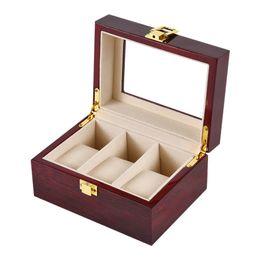 3g box 2019 - 3-Slot Wooden Watch Watch Box Rectangular Storage Box For Expensive Display Series 3G cheap 3g box