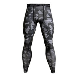 $enCountryForm.capitalKeyWord NZ - 2019 Compression Tights Pants Men Gyms Fitness Sporty Leggings Male Joggers Skinny Trousers Crossfit MMA Male Sportswear Bottoms