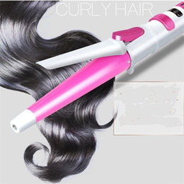 $enCountryForm.capitalKeyWord Australia - professional auto rotary electric har curler ceramic magic ratating styling curling iron roller wand automatic hair salon waver